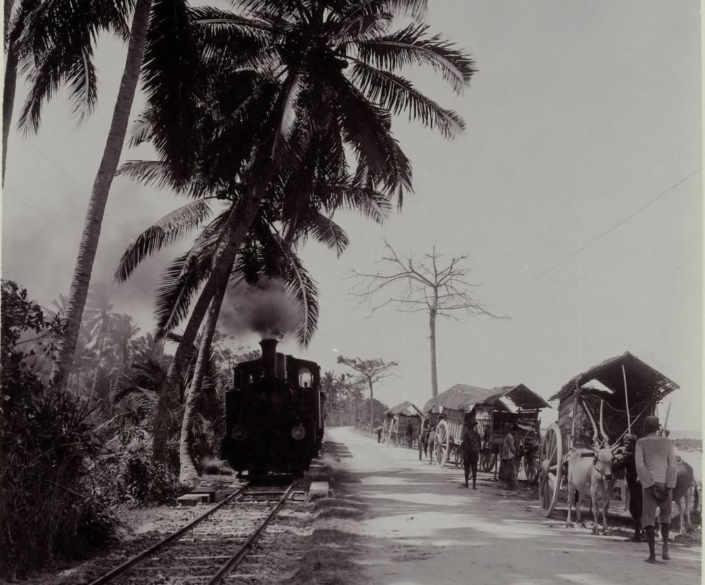 Alat Transportasi Kereta Api Madura Gambar Awal Perkembangannya Indonesia Hadir