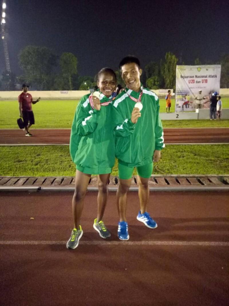 Olahraga 2 Atlet Pasi Sampang Sumbang Medali Emas Kejurnas Stasiun