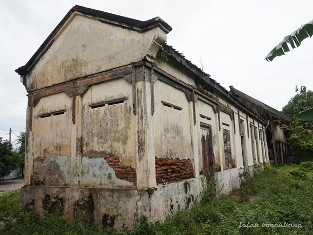 Stasiun Lasem Merana Jejak Bocahilang Kereta Api Kota Sampang Kab