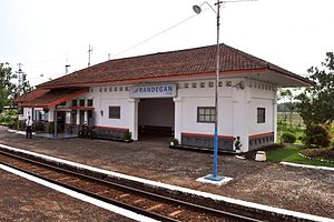 Stasiun Randegan Wikivisually St 141120 0043 Rwg Jpg 2014 Lokasi