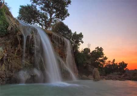 Daftar Tempat Wisata Bangkalan Sampang Madura Air Terjun Toroan Sumur