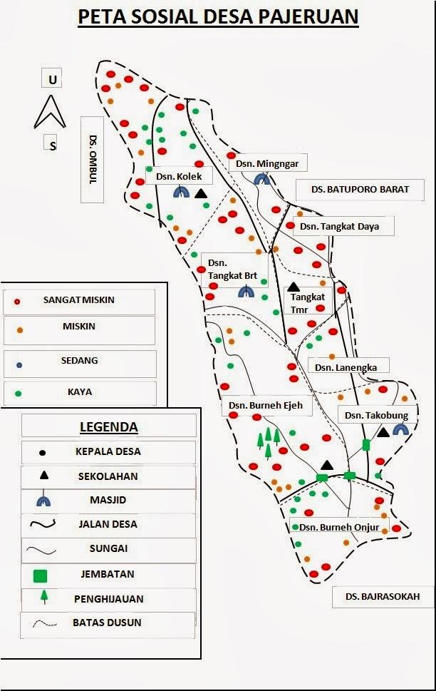 Desa Pajeruan Januari 2014 Blogspot Terletak Kecamatan Kedundung Kabupaten Sampang