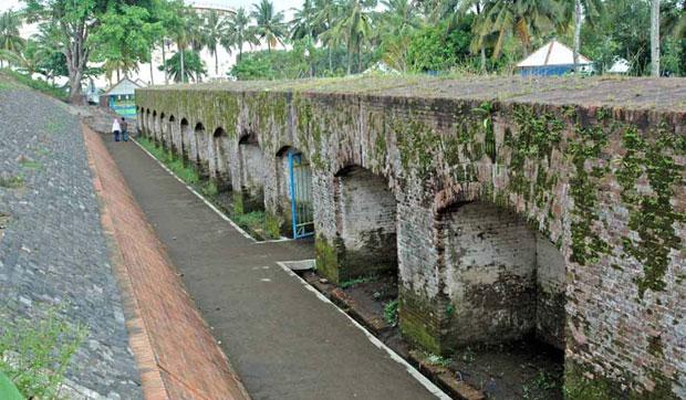 Benteng Pendem Cilacap Indonesian Heritage Kab Semarang