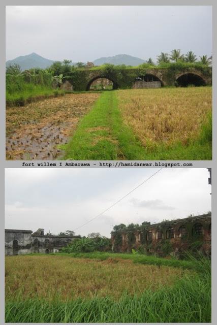 Traveling Benteng Pendem Ambarawa Fort Willem Sisa Tengah Persawahan Apakah