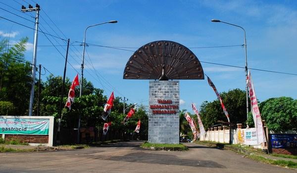 Bonbin Mangkang Kebun Binatang Semarang Taman Margasatwa Pintu Masuk Burung