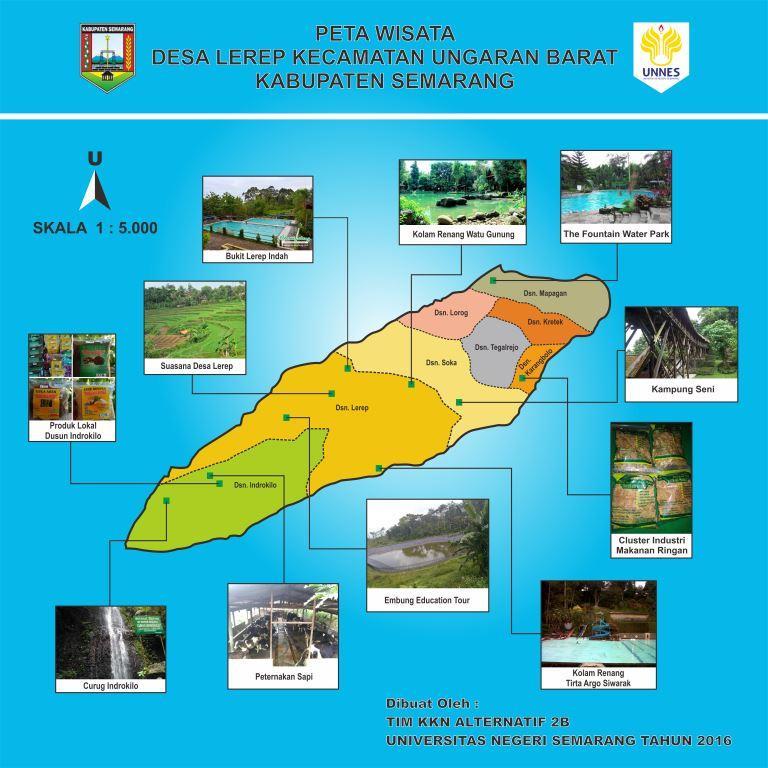 Materi Geografi Bukit Lerep Indah Kab Semarang