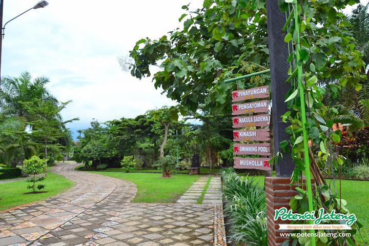 Wisata Mewah Balutan Tradisional Jawa Balemong Resort Potensi Kawasan Taman