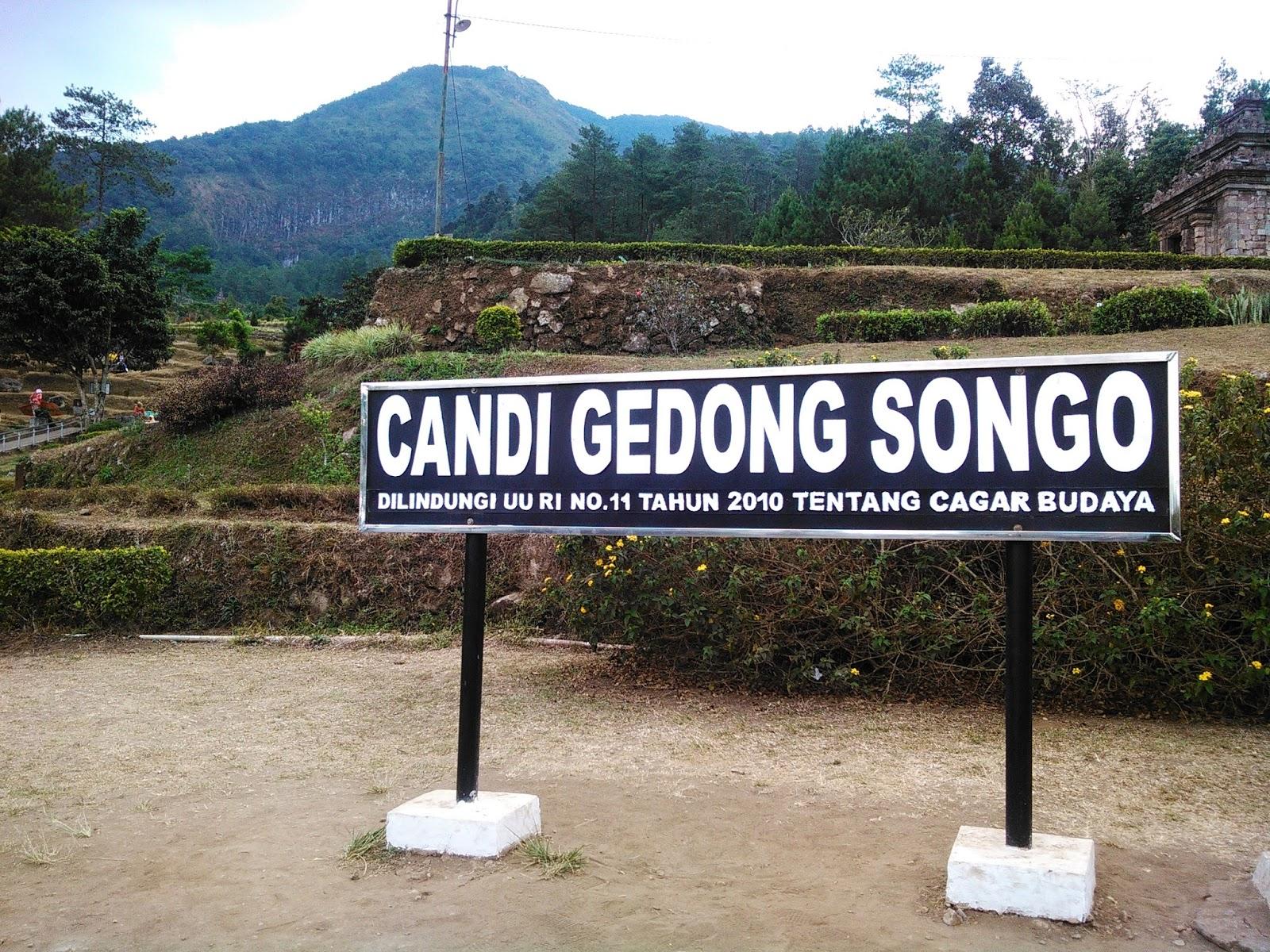 Candi Gedong Songo Bandungan Semarang Travelling Indonesia Berada Lereng Gunung