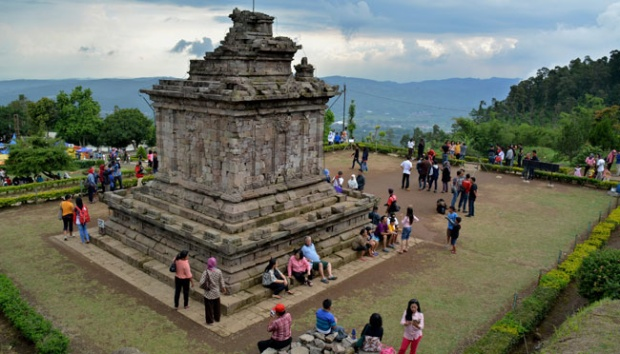 Candi Gedong Songo Berbenah Menjelang Libur Natal Travel Tempo Wisata