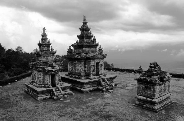 Candi Gedong Songo Semarang Wisata Alam View Eksotik Kab