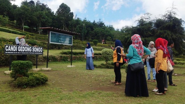 Destinasi Wisata Kabupaten Semarang Indahnya Panorama Alam Kompleks Candi Gedong