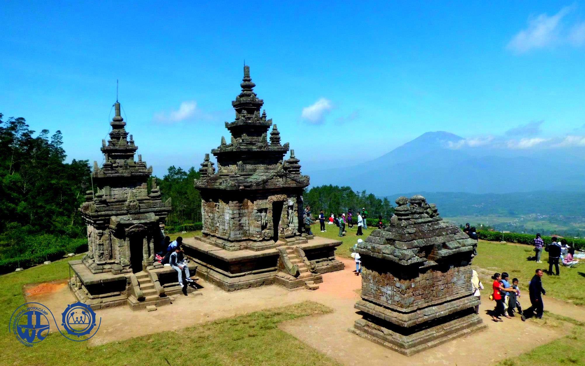 Gedongsongo Camp Iiwc Pkbi Wisata Alam Semarang Candi Gedong Songo