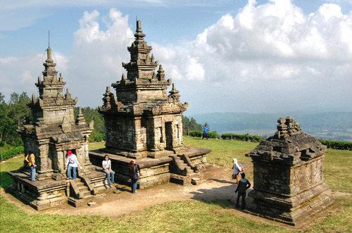 Wisata Candi Gedong Songo Traveling Hemat Nusantara Semarang Kab