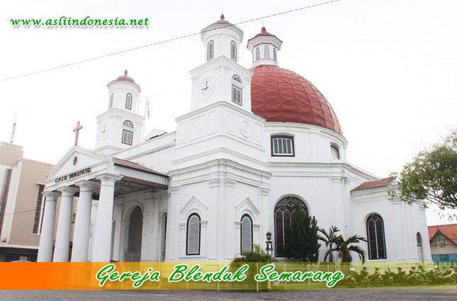 25 Info Lengkap Tempat Wisata Semarang Terkenal Gereja Blenduk Sebagai