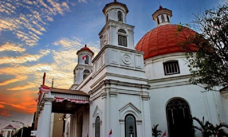 4 Spot Foto Terbaik Kota Semarang Wajib Dikunjungi Gereja Blenduk
