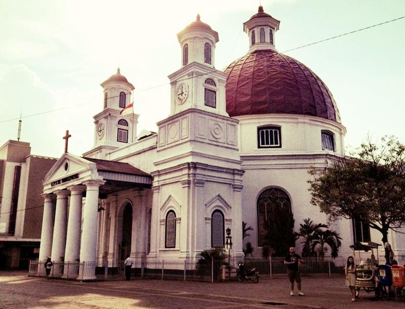 Blog Klaten Wisata Sejarah Gereja Blenduk Semarang Kab