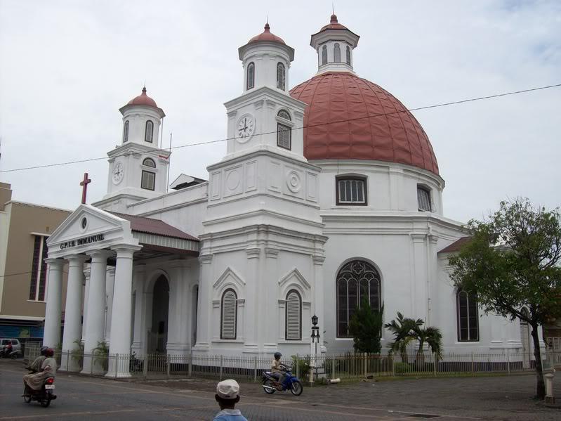 Business Met Technology Wisata Semarang Gereja Blenduk Kab