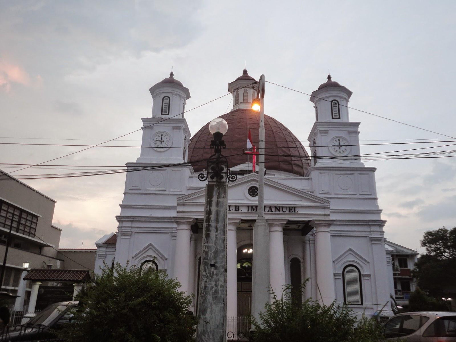 Coretan Sederhana 2015 Gereja Blenduk Kadang Dieja Blendug Seringkali Dilafazkan