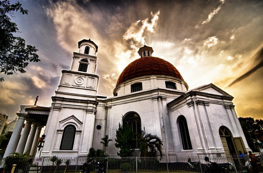 Daftar Bangunan Kuno Semarang Wajib Kamu Kunjungi Gereja Blenduk Landmark