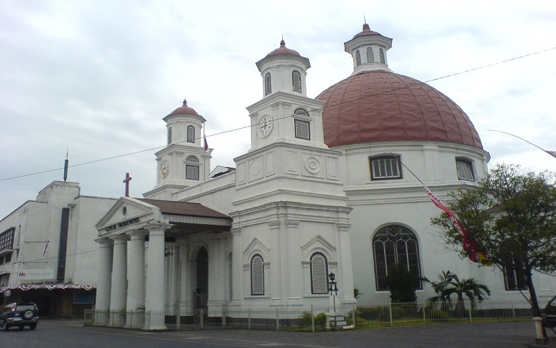 Dahulu Tempat Mangkal Banci Kota Semarang Kian Semarak Gereja Blenduk