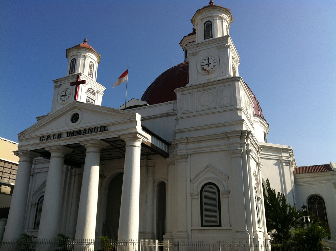 Earth Gereja Blenduk Semarang Jawa Tengah Kab