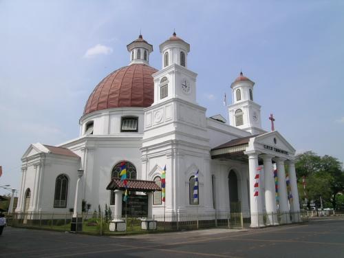 Gereja Blenduk Berbagi Tempat Wisata Menarik Dibangun 1753 Salah Satu