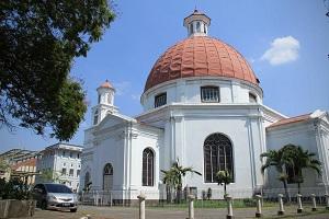 Gereja Blenduk Lansdmark Kota Semarang Wisata Toea Berkunjung Melihat Kadang