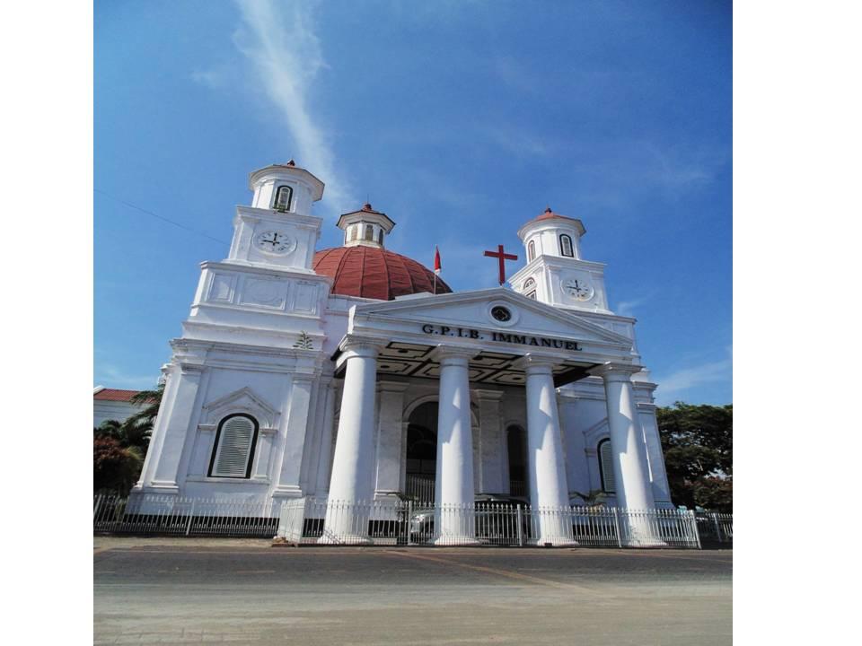 Gereja Blenduk Membulat Balai Pelestarian Cagar Budaya Pemerintah Semarang Kab