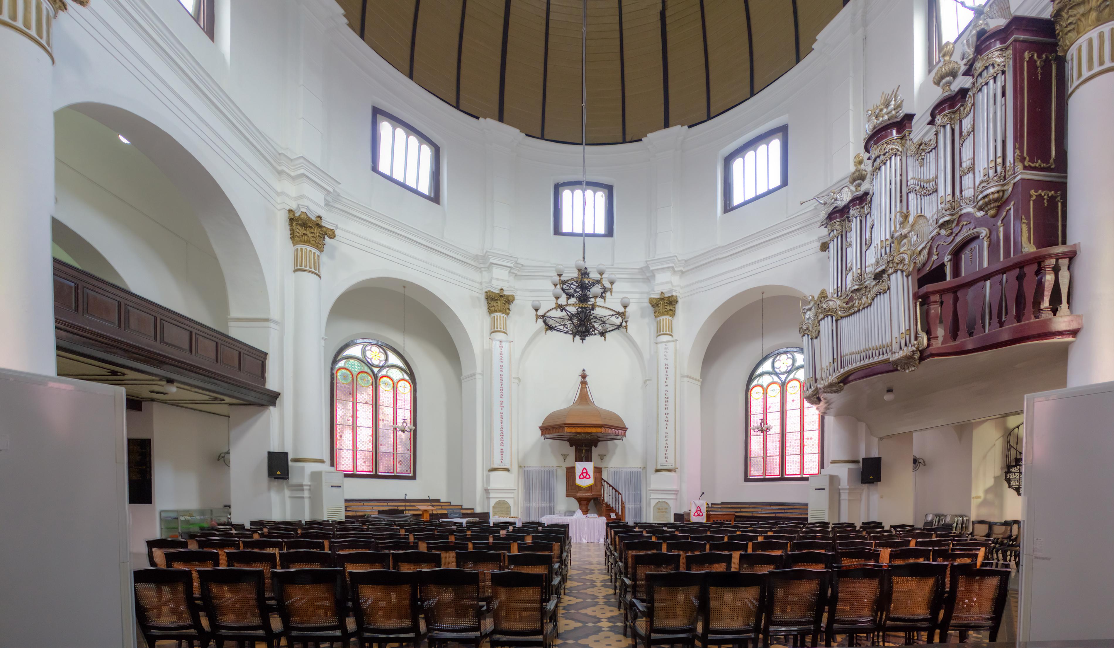 Gereja Blenduk Semarang Salah Satu Tertua Jawa Tengah Kab