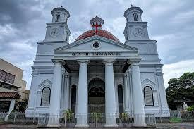 Gereja Blenduk Semarang Semarangan Kota Kaya Bangunan Kuno Memiliki Nilai