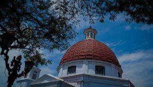 Gereja Blenduk Semarang Tertua Jawa Tengah Penuh Artistik Foto Bambang