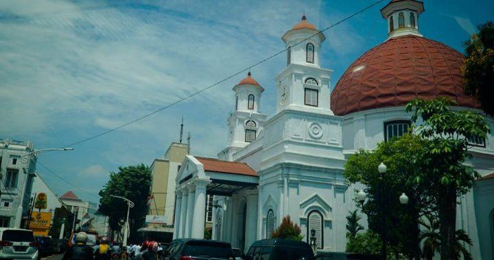 Gereja Blenduk Semarang Tertua Jawa Tengah Penuh Artistik Kompos Net