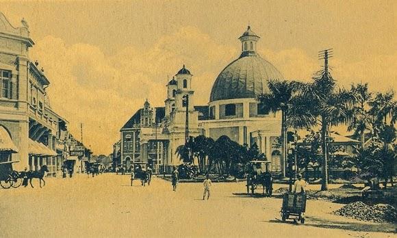 Gereja Blenduk Wisata Kota Tua Peninggalan Belanda Semarang Tempo Dulu