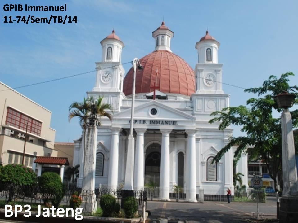 Gpib Immanuel Semarang Balai Pelestarian Cagar Budaya Jawa Tengah Situasi