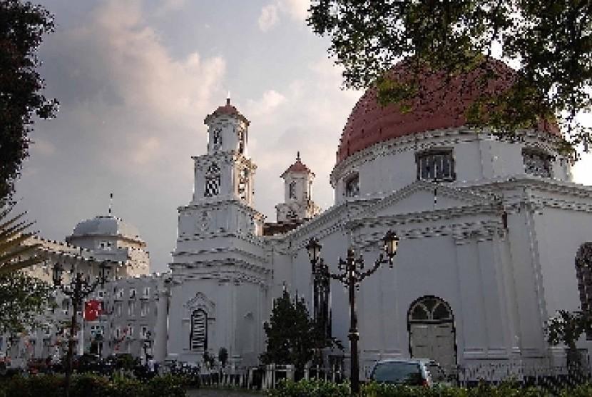 Kota Diusulkan Jadi Cagar Budaya Nasional Republika Online Gereja Blenduk