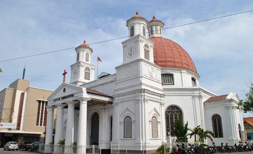 Kota Semarang Gereja Blenduk Kab