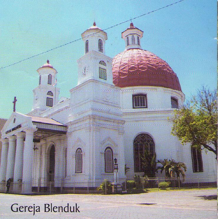 Kota Semarang Rarashizuka Blog 32 Bangunan Gereja Pertama Gaya Arsitektur