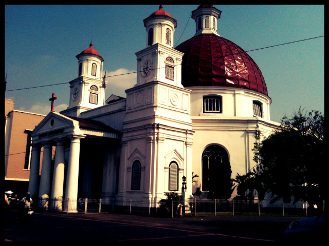 Kota Semarang Sejarah Gereja Blenduk Kab
