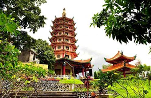 Kota Semarang Wisata Satu Salah Unik Vihara Buddhagaya Watugong Ddasarnya