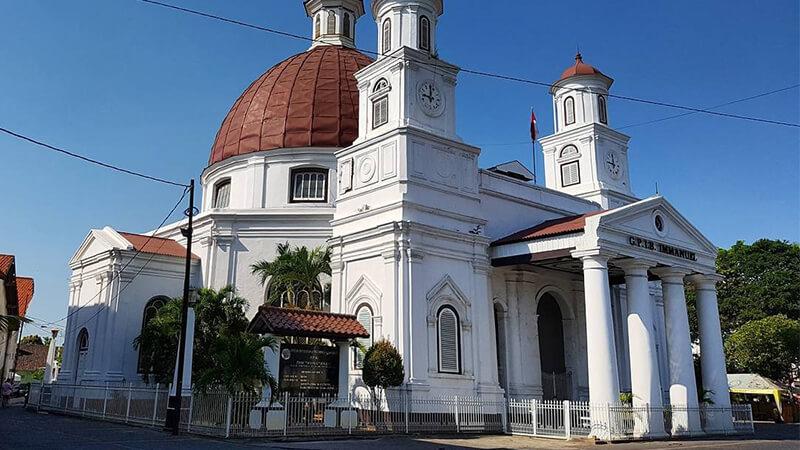 Panduan Wisata Semarang Sekitarnya Pikniek Tempat Gereja Blenduk Kota Kab