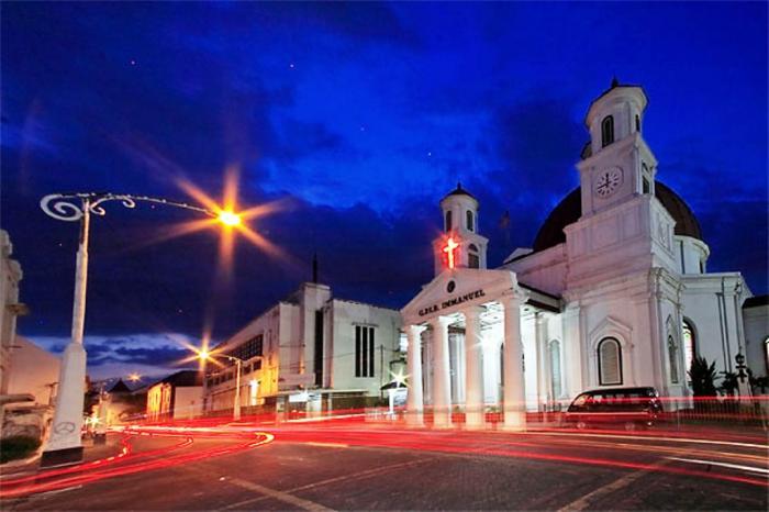 Pariwisata Jawa Tengah Gereja Blenduk Semarang Kab