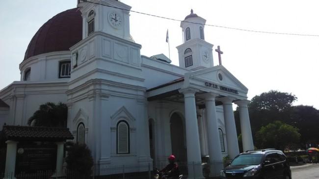 Peristiwa Gereja Blenduk Semarang Mulai Keropos Kab