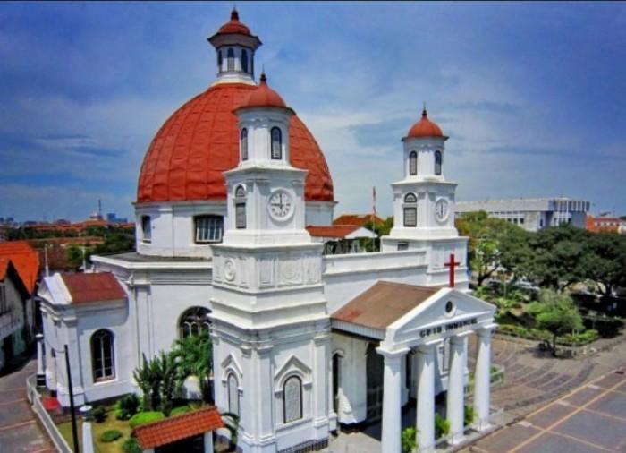 Sejarah Gereja Blenduk Semarang Center Excellence Dibangun 1753 Salah Satu