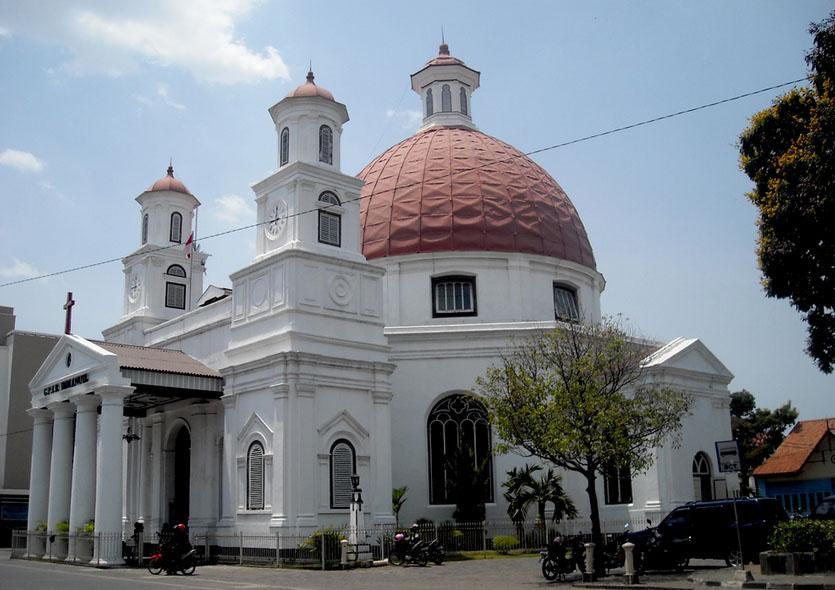 Sejarah Kota Semarang Cerita Gereja Blenduk Kab