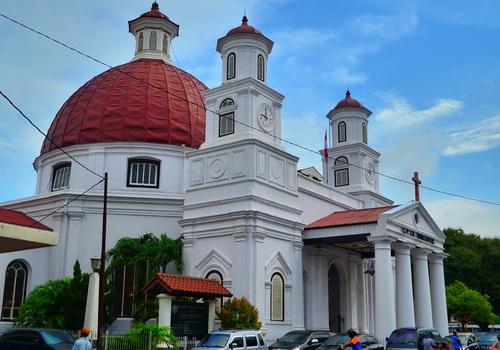 Semarang 10 Tempat Wisata Religi Gereja Blenduk Kab