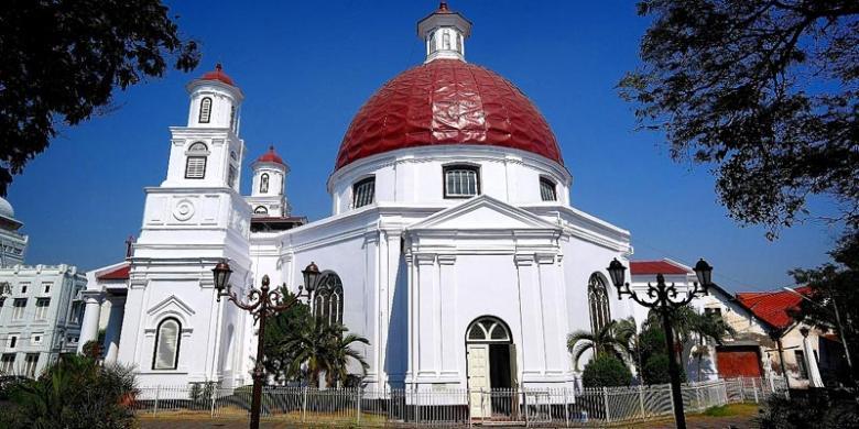 Semarang Coba Nostalgia Pasar Klithikan Kompas Gereja Blenduk Kota Jawa