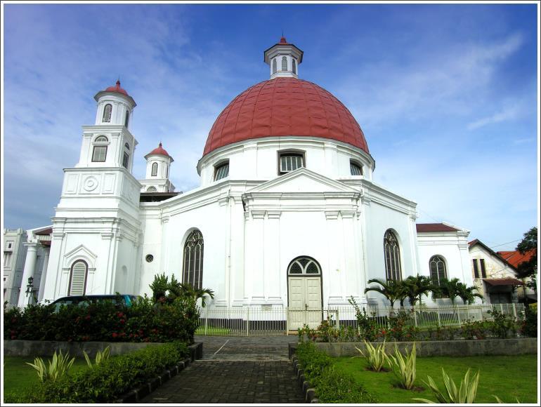 Semarang Exotic Indonesian Gereja Blenduk Kab