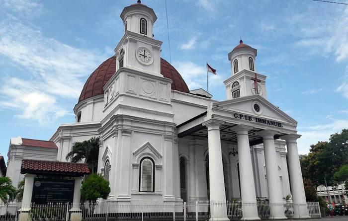 Semarang Gereja Blenduk Kab