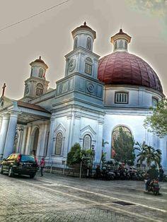 Semarang Indonesia Journeys Pinterest Gereja Blenduk Kab