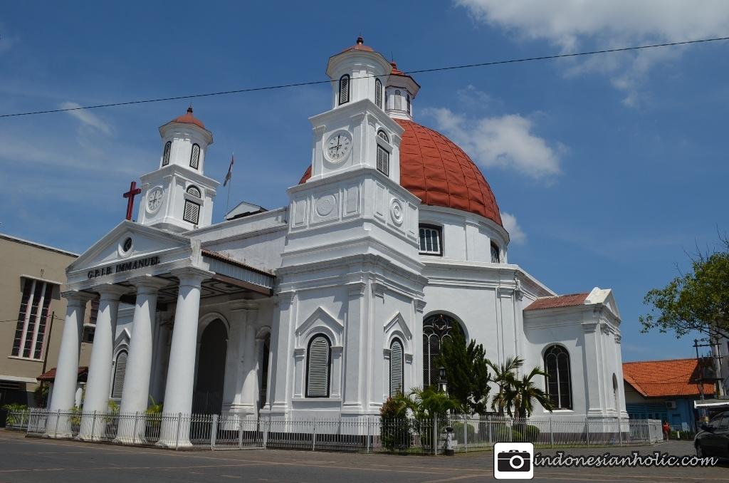 Semarang Part 1 Jalan Sendiri Keliling Kota Gereja Blenduk Berasitektur